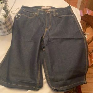 """Footaction brand Jean shorts size 34"""""""